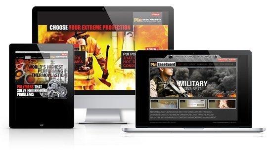 PBI Mobile Responsive Website and Microsite