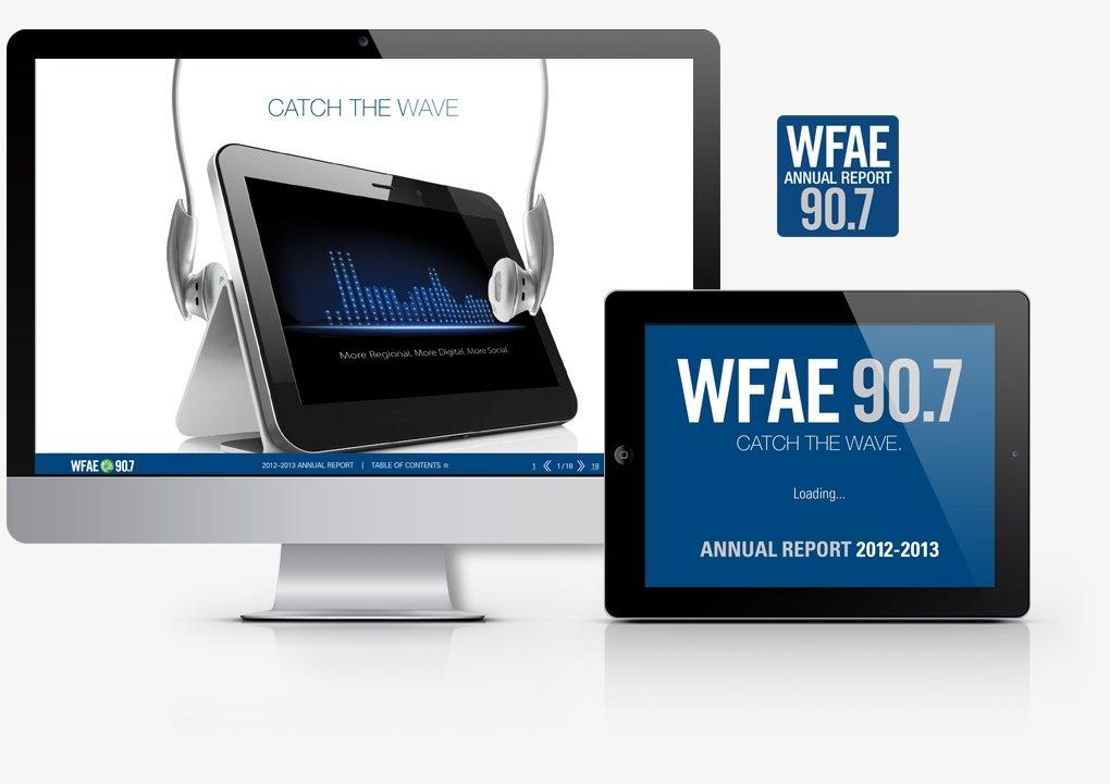 WFAE 2012-2013 annual report - interactive PDF