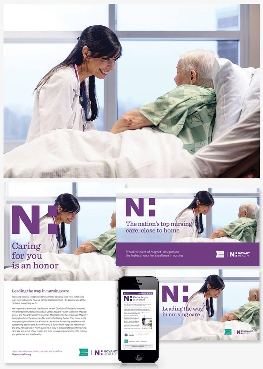 Novant Health marketing case study | ABZ Creative Partners