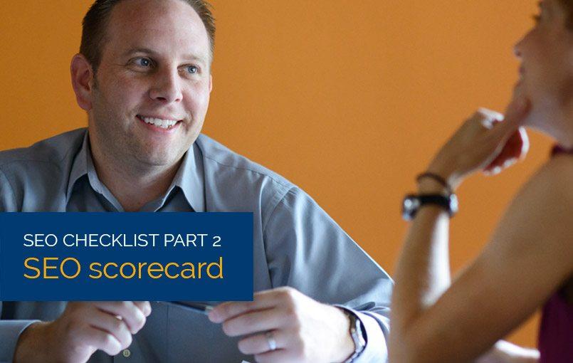 Free SEO Scorecard header image