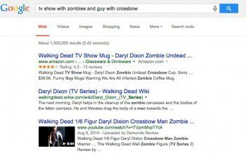 """Google """"that movie with that guy that I liked"""" search image"""