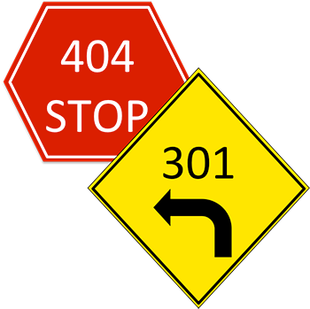 How to 301 your 404 HTTP status