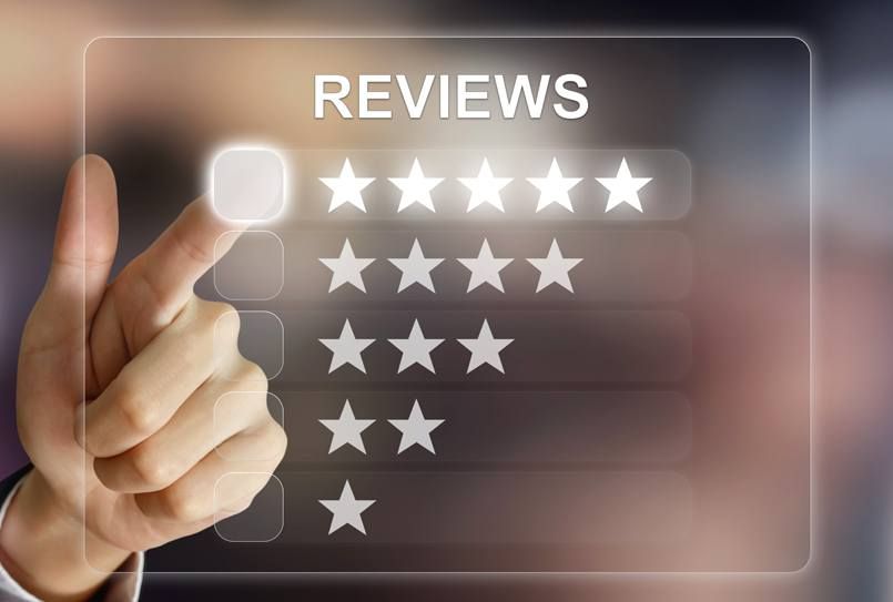Local marketing with online customer reviews and testimonials