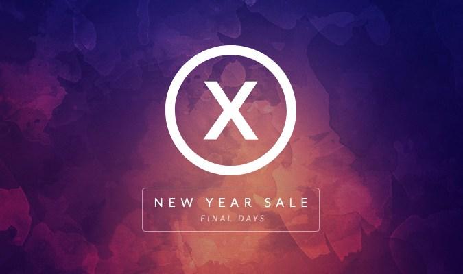 X Theme website gradient